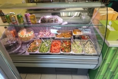 Fresh Fruit and Salad